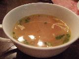 コンソメスープ。うまかった