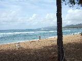 私たちが滞在したホテルの目の前のビーチ